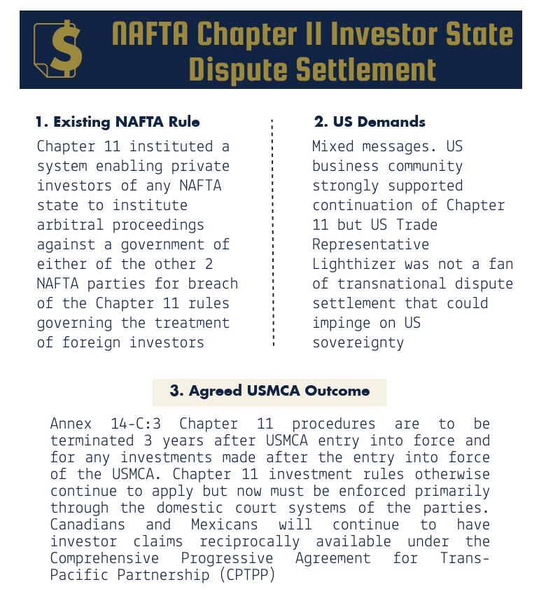 NAFTA - USMCA