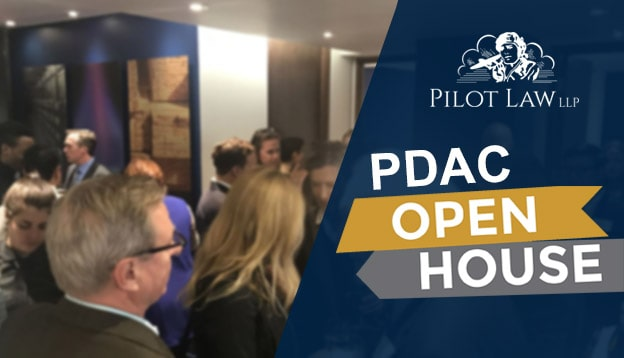 PDAC 2019 Convention - Pilot Law LLP Open House